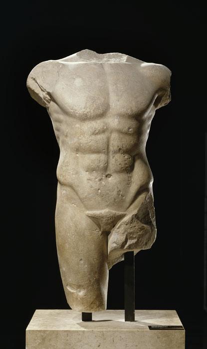Torso arcaico di Apollo, Louvre