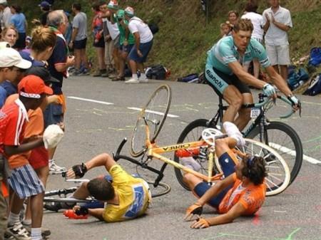 Armstrong cade a Luz Ardiden