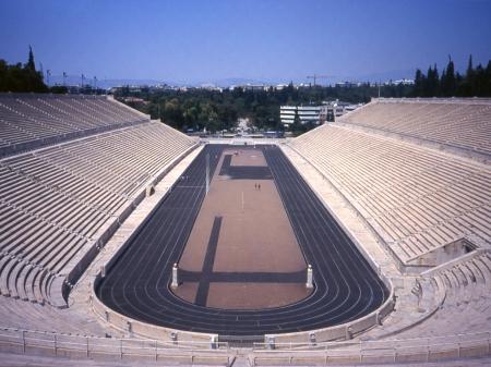 Lo stadio di Atene