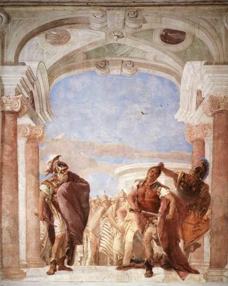 Giovan Battista Tiepolo, L'ira di Achille