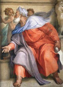 Michelangelo, Ezechiele, Cappella Sistina